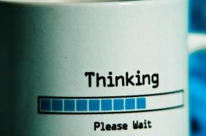 Technology making life easier… tooverthink